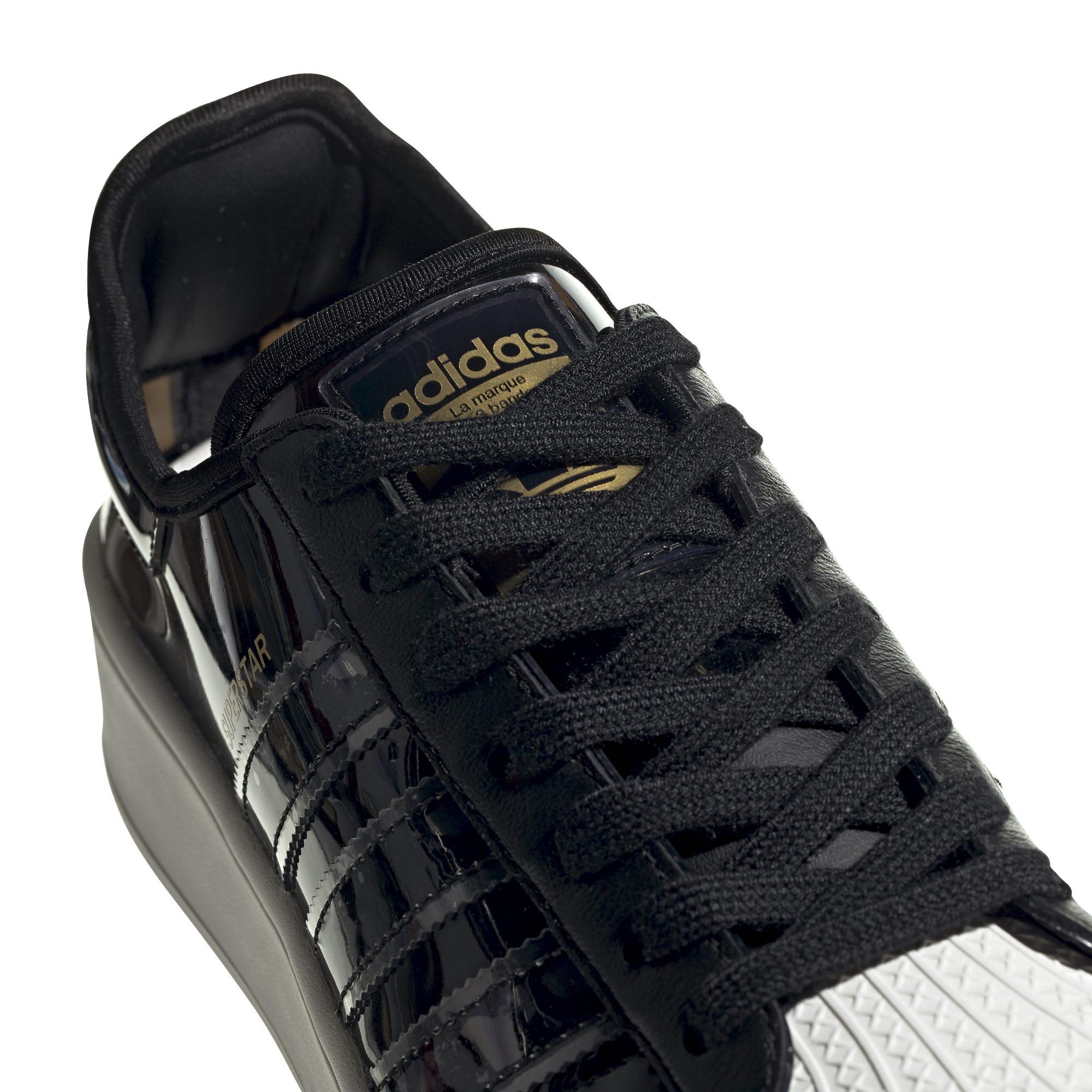 Adidas wmn superstar bold black