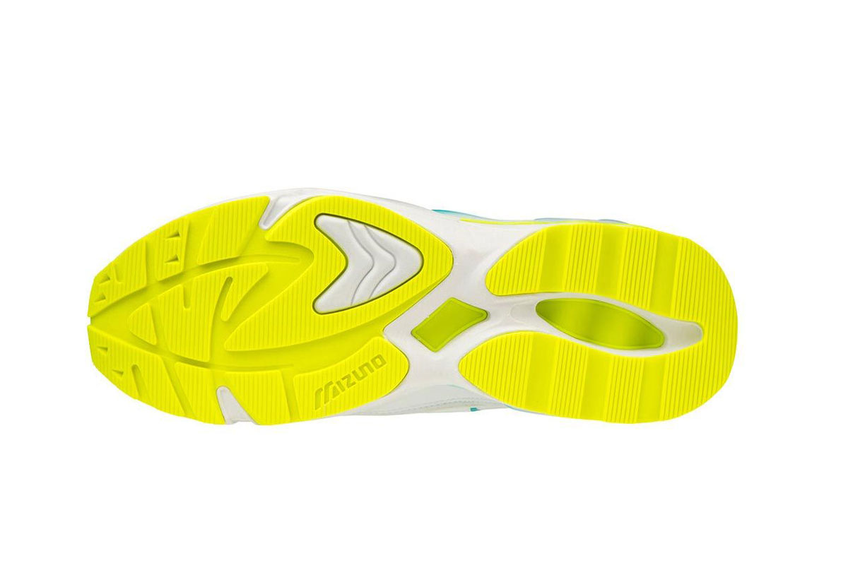 Mizuno rider 1 so time white yellow