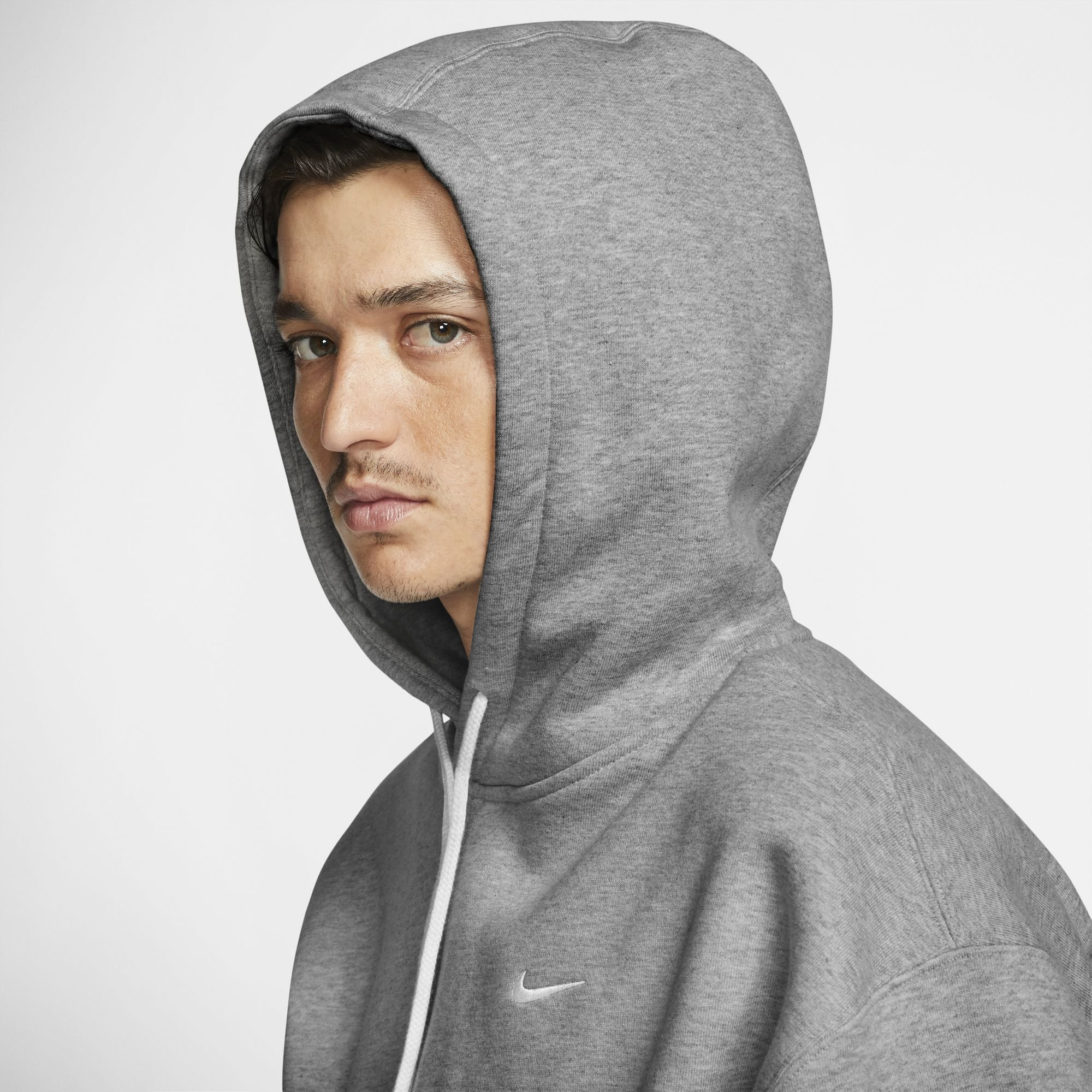 nike M nrg hoodie flc grey heather
