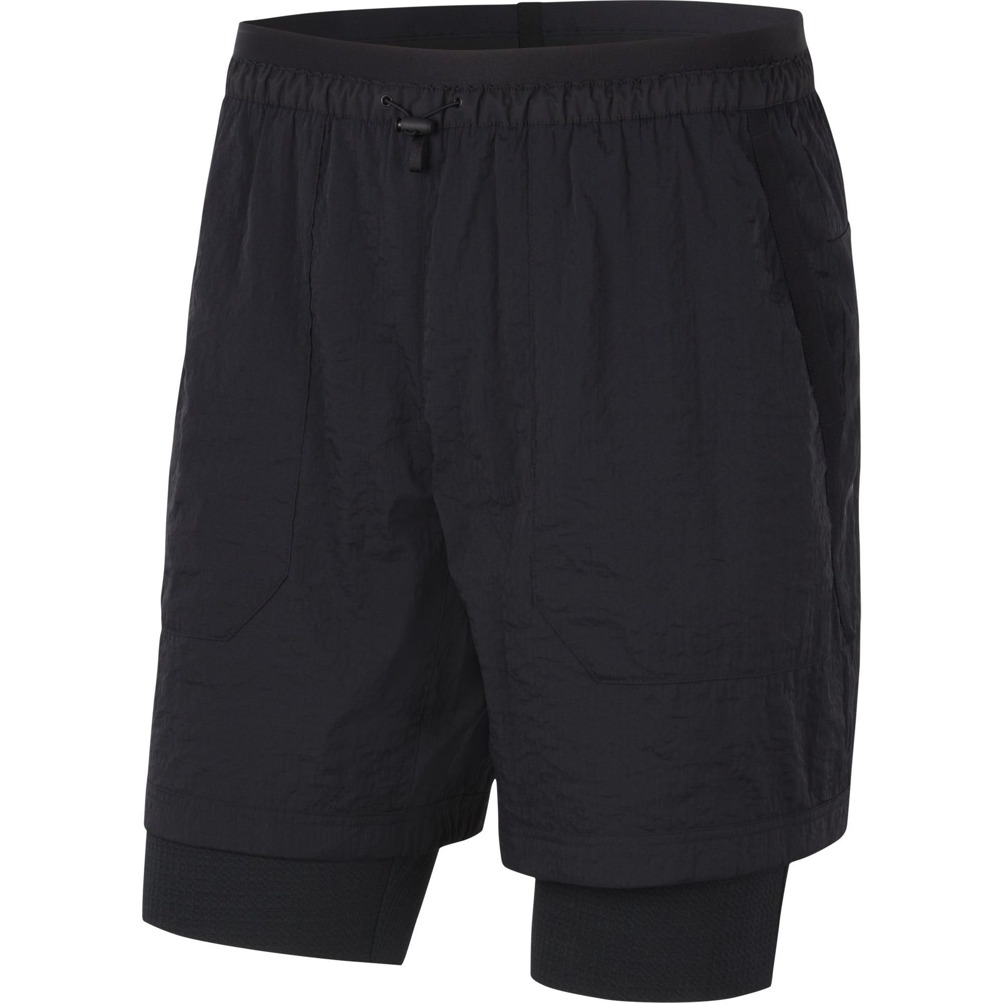 Nike sportswear short tech pack black