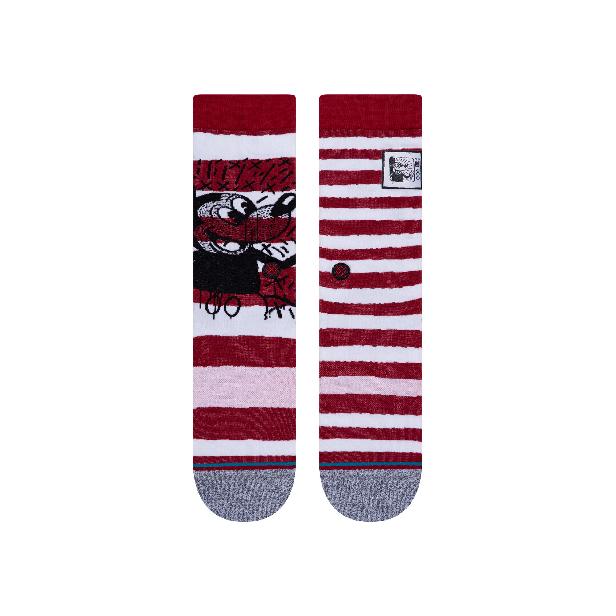 Stance Mickey TV haring mix red