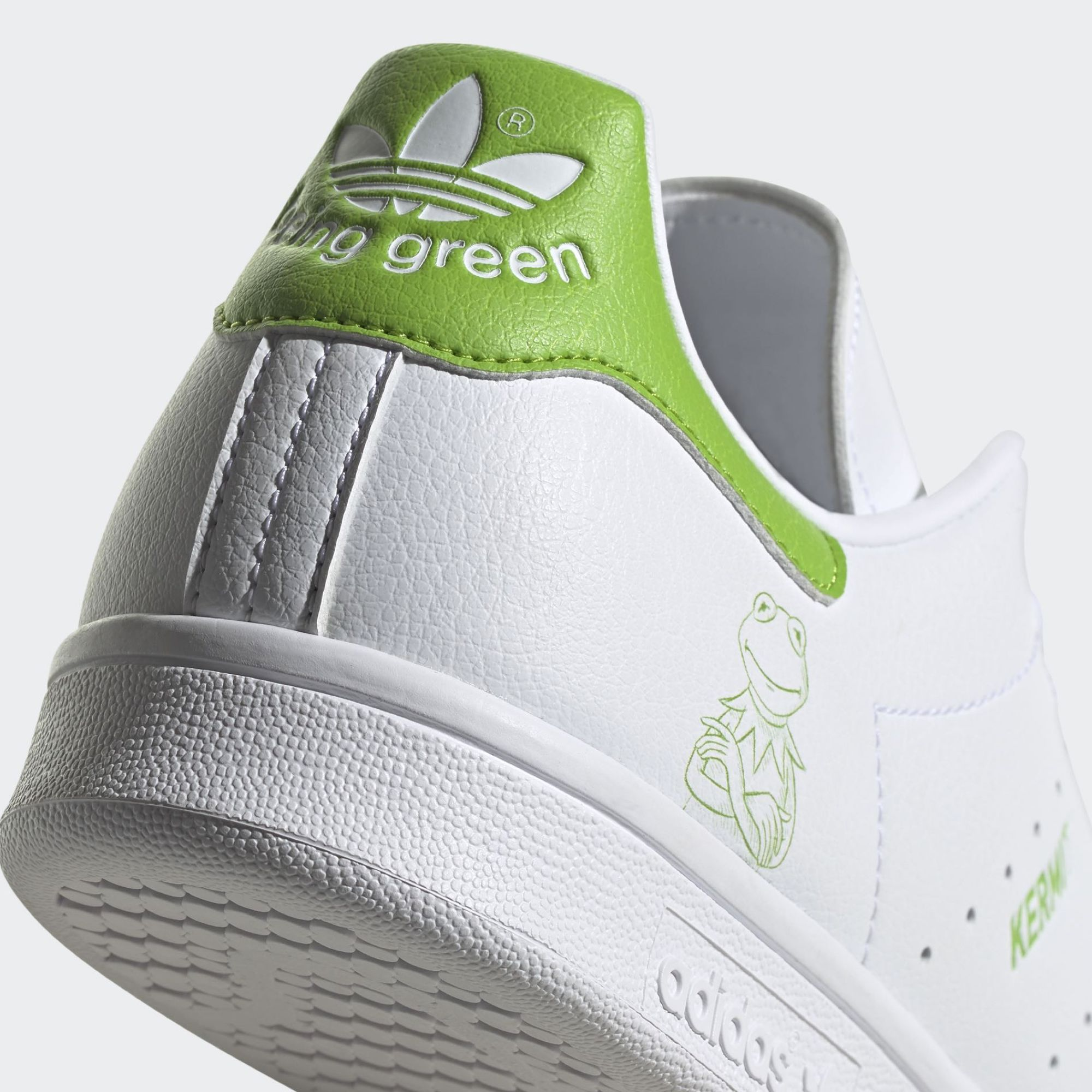 "adidas stan smith white Primegreen ""Kermit"""
