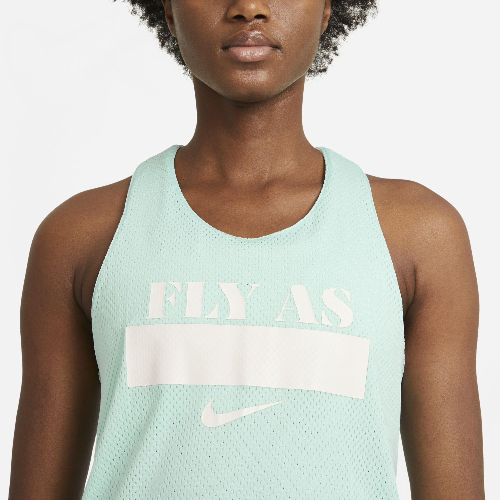 """nike essential tee-shirt light dew """"fly pack for her"""""""