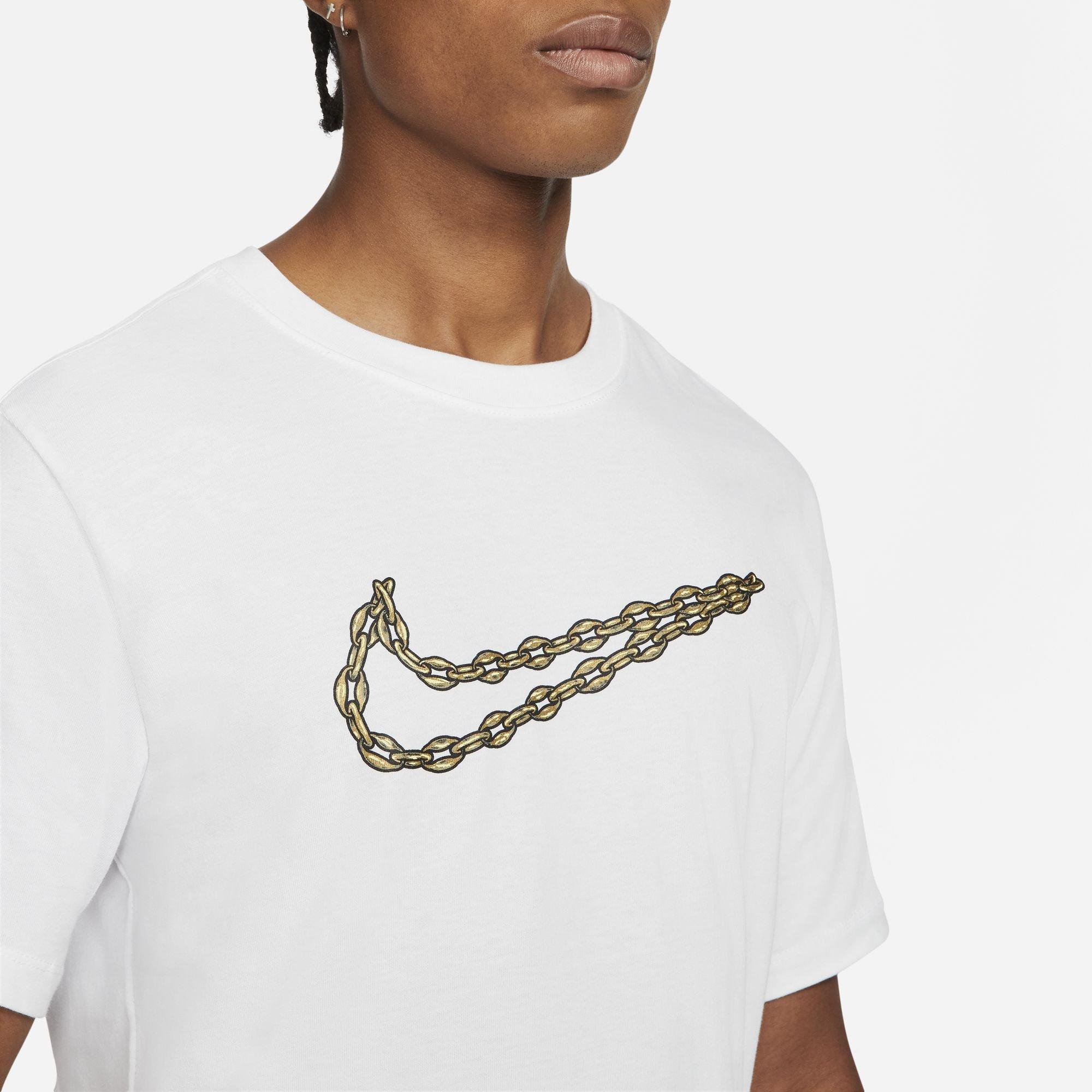 nike swoosh menphis tee-shirt white