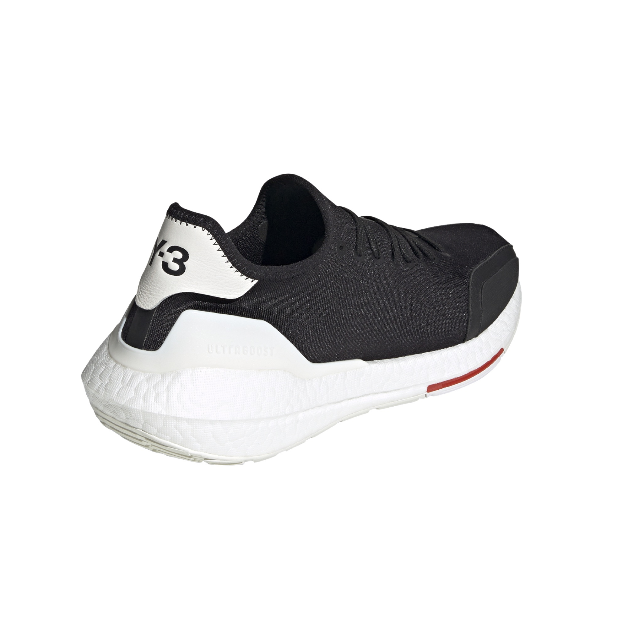 Y3 Adidas Ultraboost 21 black red core white