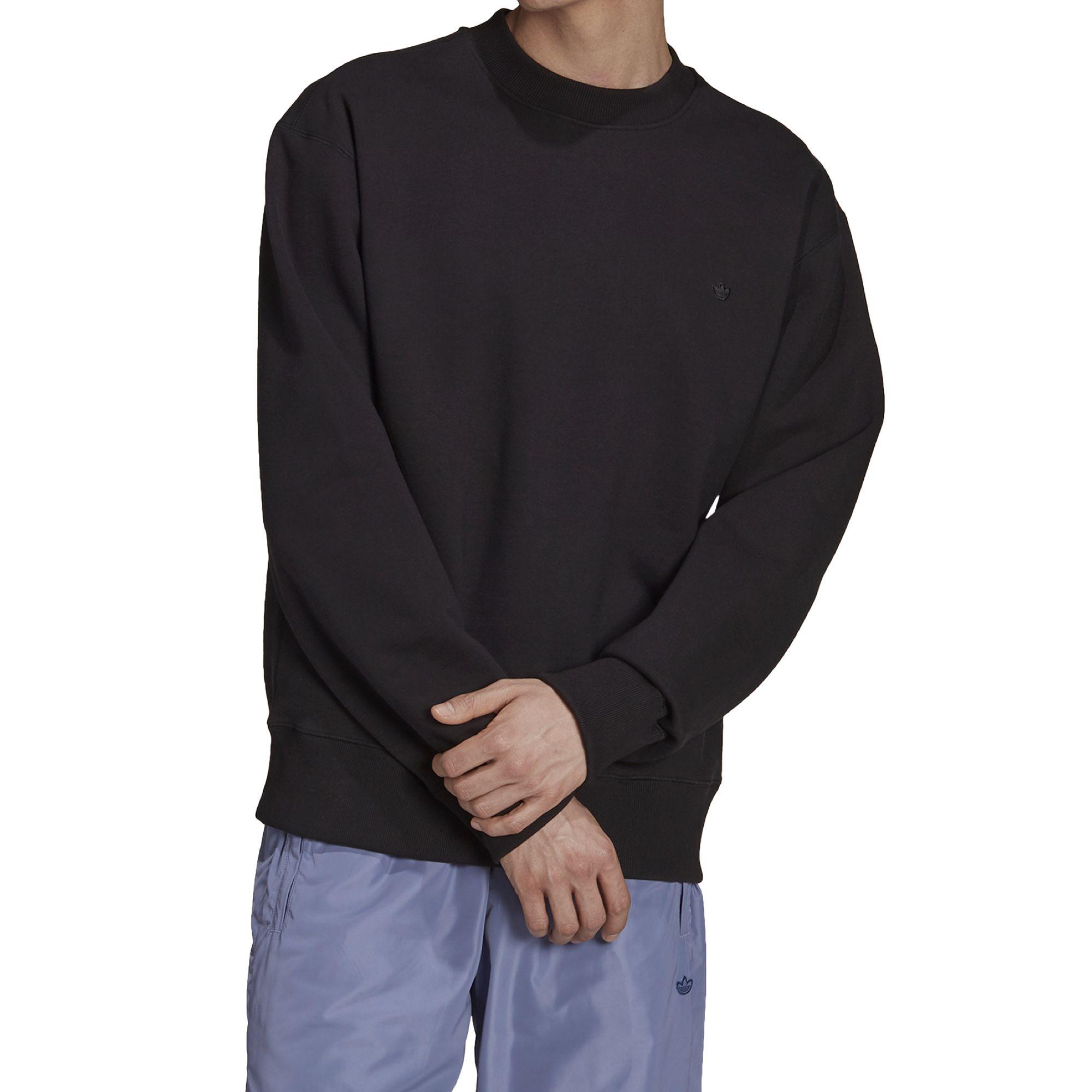 Adidas Adicolor Trefoil Crewneck Sweatshirt black
