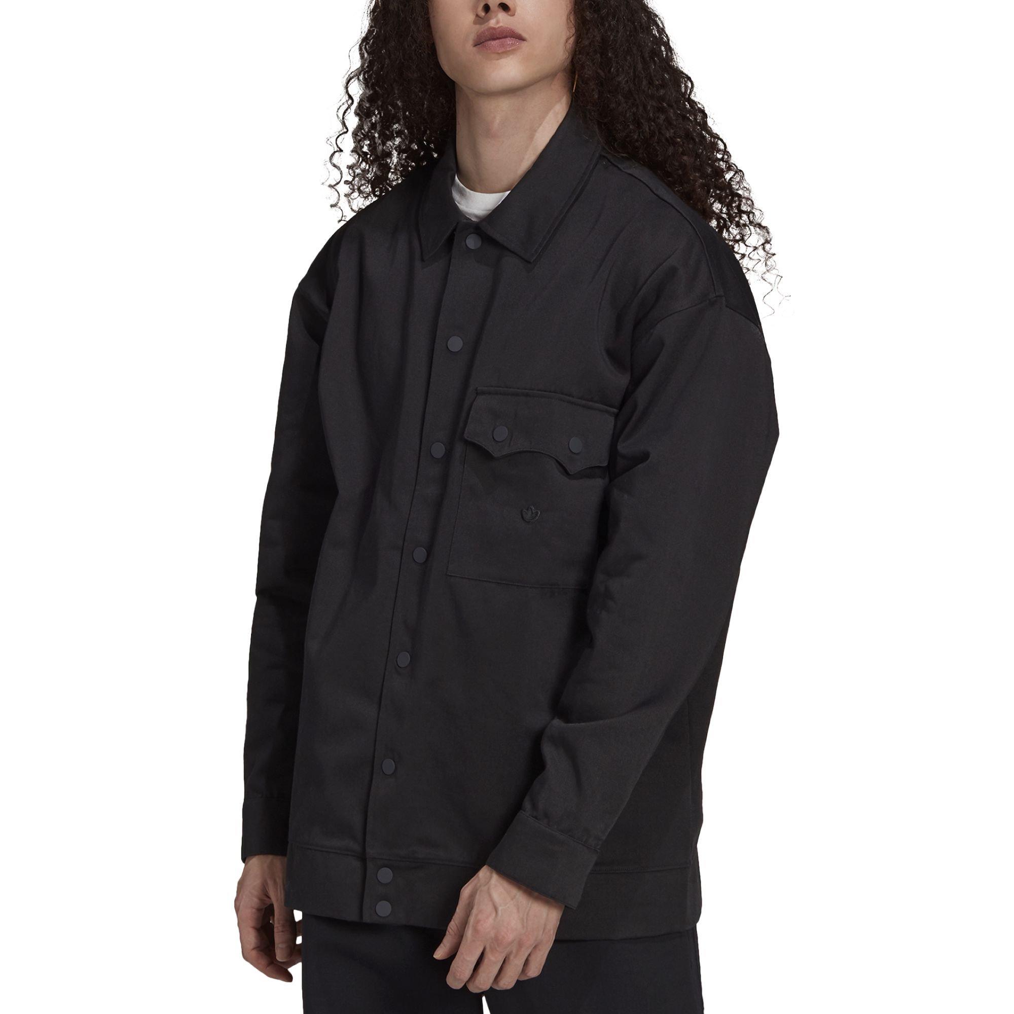 Adidas Adicolor Trefoil Jacket Twill black