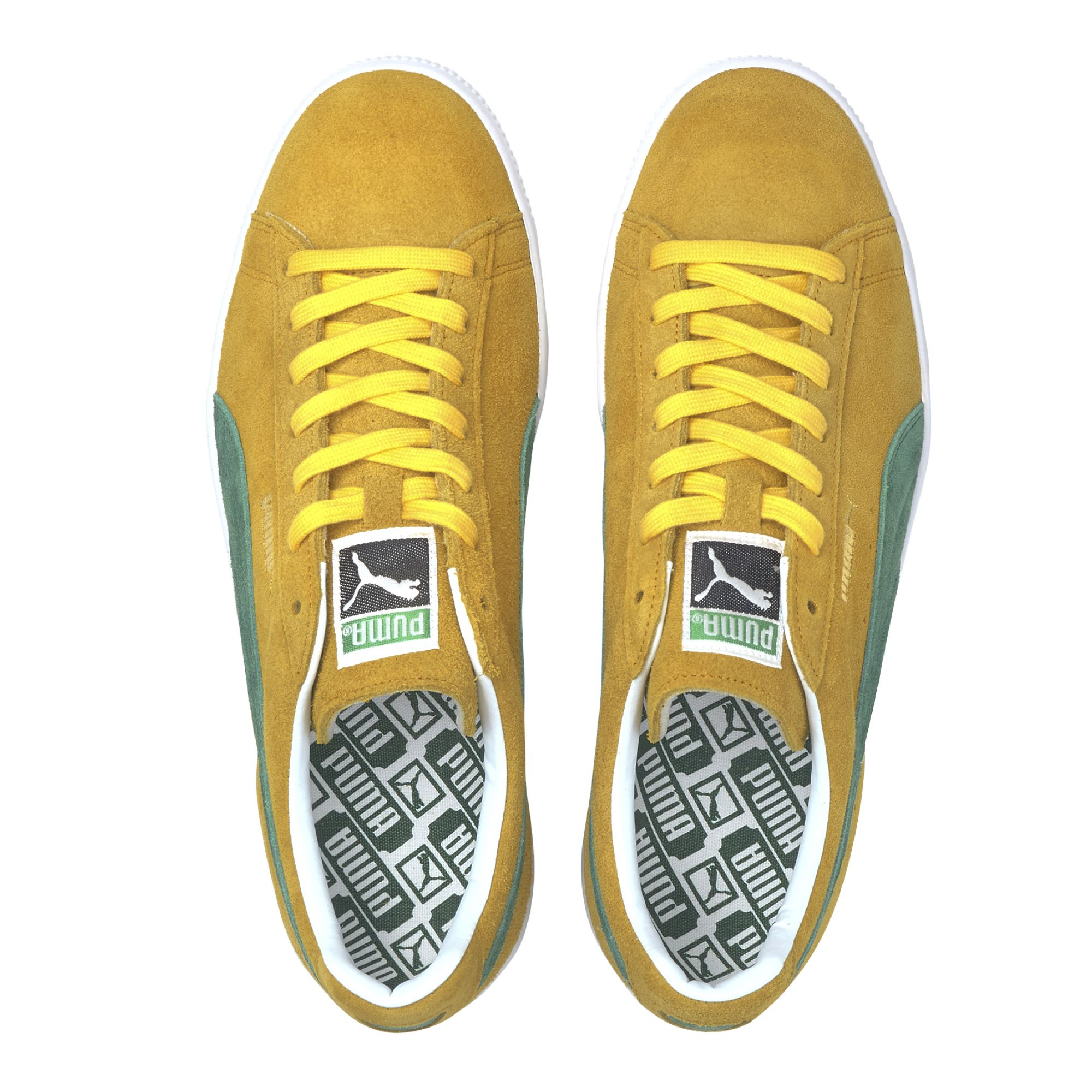Puma suede vtg made in japan 2 yellow