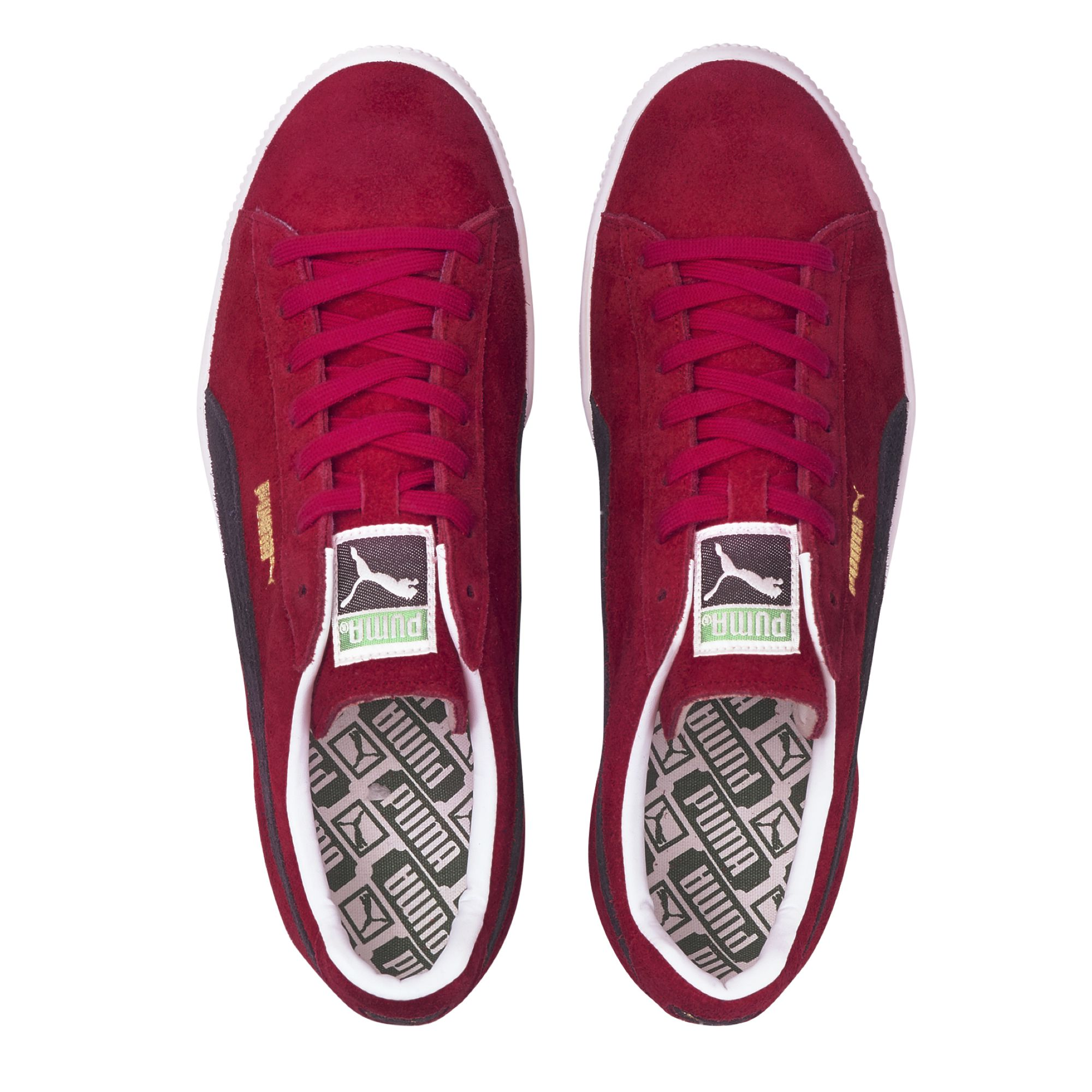Puma suede vtg made in japan 2 red