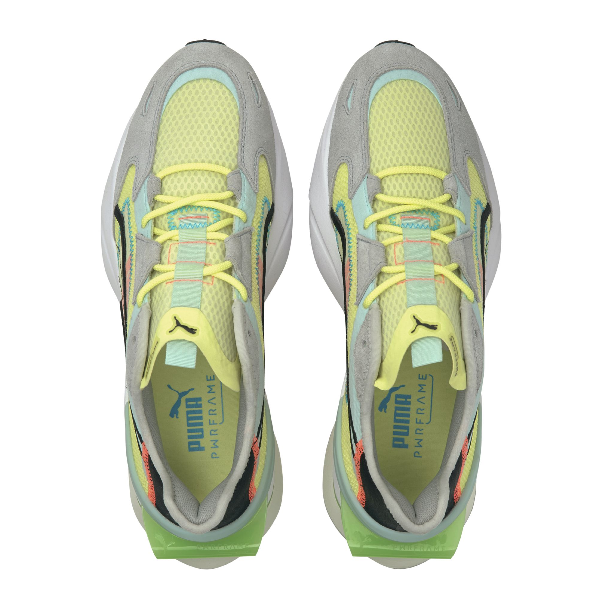 Puma op1 pwrframe abstract yellow